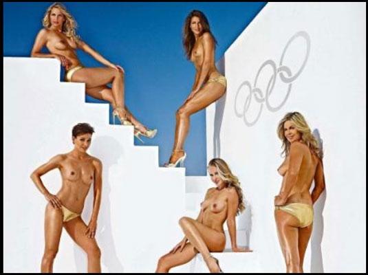 Non solo Londra per la sexy nuotatrice e tuffatrice tedesca. - Swimbiz