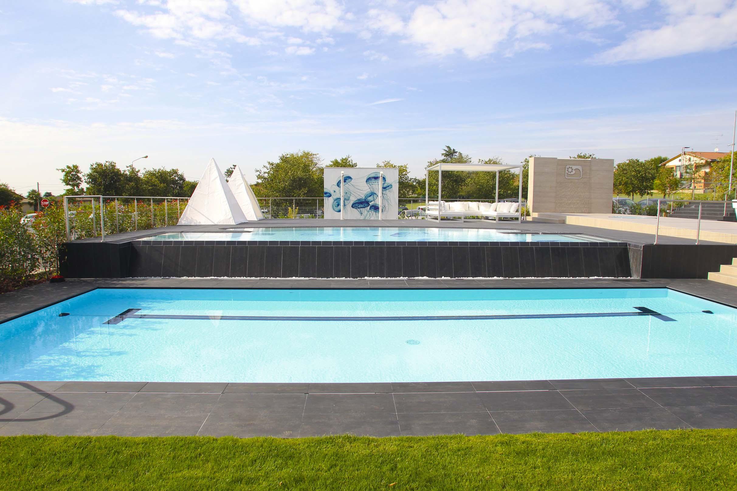 Deep art quando il mondo della piscina incontra quello for Piani del padiglione della piscina