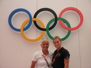 Giuliana Aor con Francesca Dallapè