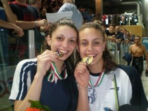 Ilaria Scarcella e Martina Carraro agli Assoluti Primaverili 2009