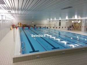 La piscina dell'Istituto Gonzaga