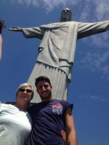 Lyubov Baruskova e Giovanni Tocci a Rio de Janeiro