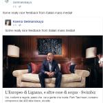 La squadra Energy Standard ha condiviso l'editoriale sul suo account Facebook ufficiale