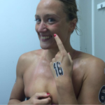 Mireia Belmonte Garcia dopo la gara di Setubal