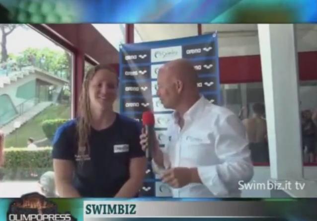 Olimpopress: Ilaria Bianchi per Swimbiz