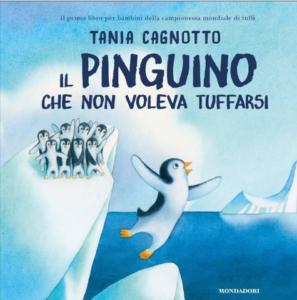 """La copertina de """"Il pinguino che non voleva tuffarsi"""""""
