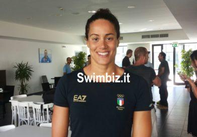 """Erika Ferraioli """"L'Olimpiade? Devi viverla fuori dalla piscina"""""""