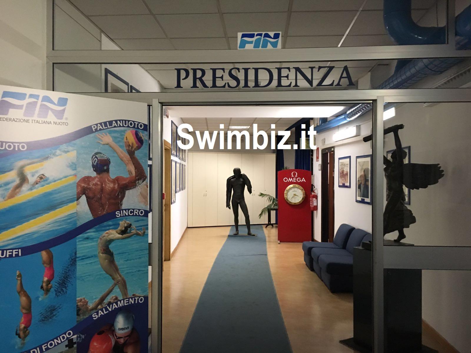 Quote olimpiche quote federali swimbiz for Ufficio di presidenza
