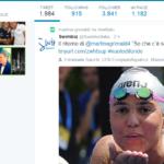 Martina Grimaldi ha ritwittato l'intervista