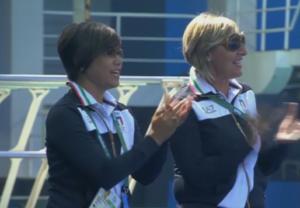 Yumiko Tomomatsu e Patrizia Giallombardo (Rai Sport)