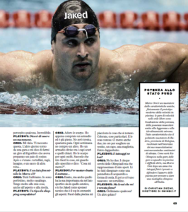 Swimbiz.it su Playboy Italia