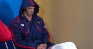 L'occhiataccia di Phelps a Rio? Non per Chad, ma per musica