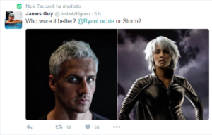 Il tweet di James Guy su Ryan Lochte