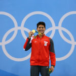 Joseph Schooling, oro olimpico per Singapore Rio e studente in un college Usa (Getty)