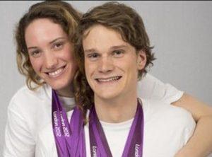 Yannick Agnel e Camille Muffat furono compagni di squadra a Nizza (Getty)