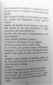 """Un estratto de """"il Tuffatore"""" di Massimo Mangiola"""