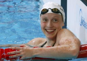 La statunitense Katie Ledecky, tre ori individuali, un oro e un argento in staffetta a Rio (Reuters)