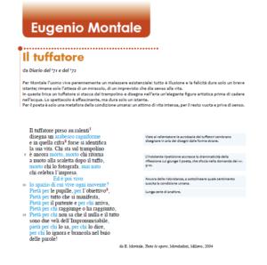 """""""Il Tuffatore"""", poesia di Eugenio Montale"""