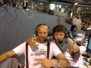 Luca Sacchi (sx) e Tommaso Mecarozzi (dx)