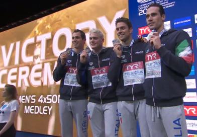 Gran finale! Mista d'ARGENTO (e anche la Juve omaggia Dotto). Russia Record Mondiale