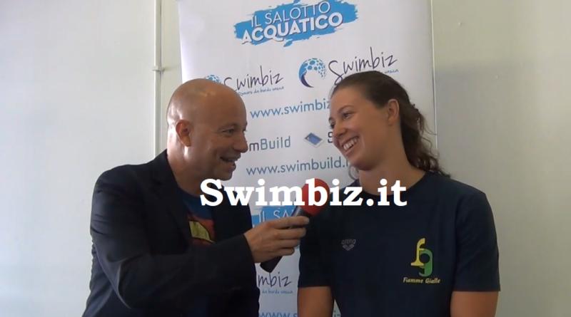 VIDEO La rana raddoppia: Arianna Castiglioni al Salotto Acquatico di Swimbiz