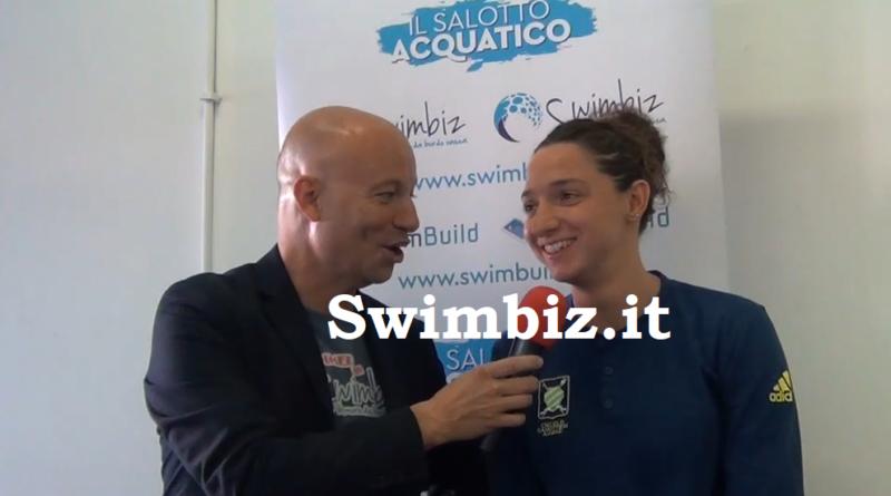 VIDEO Farfalla ambiziosa: Elena Di Liddo al Salotto Acquatico di Swimbiz