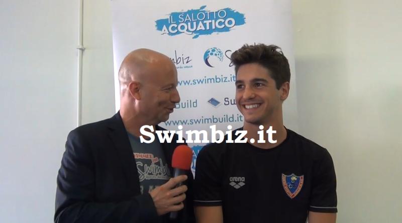 VIDEO Dorso baffo d'oro: Matteo Restivo al Salotto Acquatico di Swimbiz