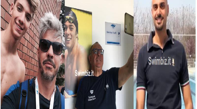 Allenatore di nuoto dell'anno: Morini, Satta e Minotti per il titolo