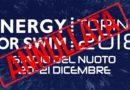 Ufficiale: Energy for Swim di Torino cancellato. Peaty: deluso