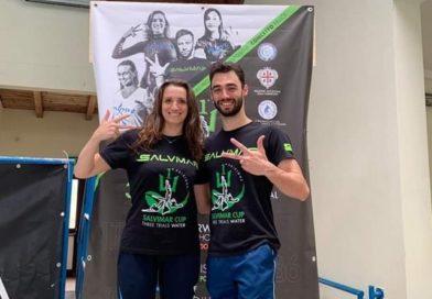 Sciacca-Mongiardino: doppio Record Italiano in apnea endurance