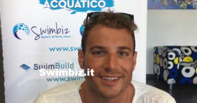 VIDEO Non c'è due senza tre: Alex Di Giorgio al Flash Acquatico di Swimbiz