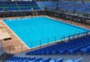 FOTOGALLERY College, un campo da calcio e impianti temporanei: Gwangju presenta le piscine mondiali