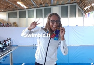 VIDEO L'ORO del Mediterraneo: Viola Magoga al Salotto Acquatico di Swimbiz