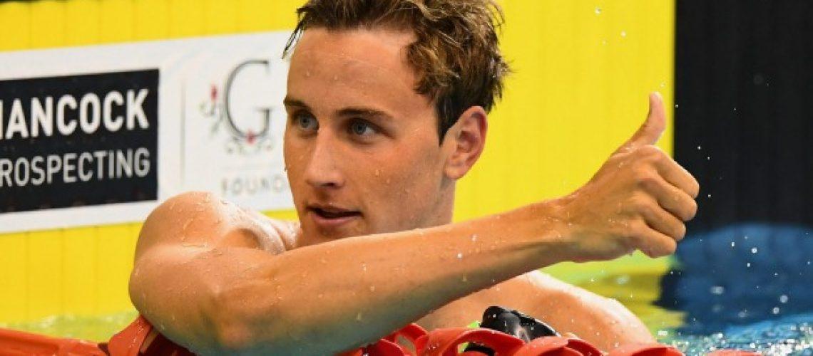 Cameron McEvoy, velocista australiano (Getty)