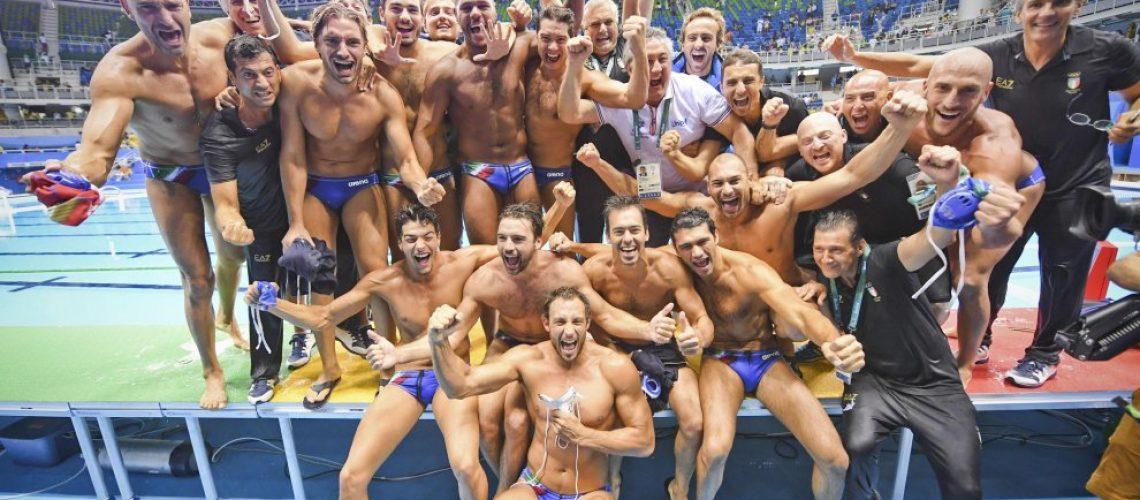 Il Settebello bronzo olimpico a Rio 2016