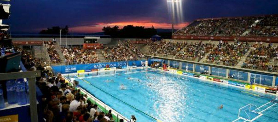 La piscina Picornell di Barcellona