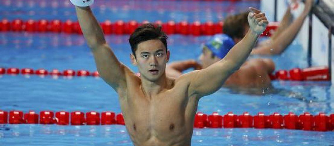 Ning Zetao, campione mondiale 100 m stile libero.