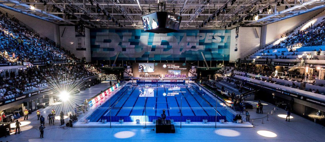 La Duna Arena, nota anche come Danube Arena