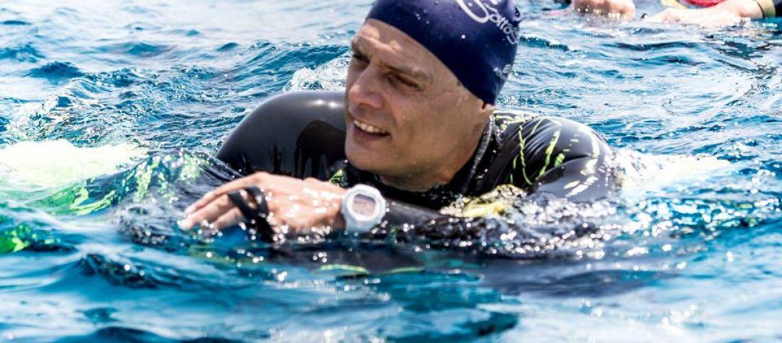 Andrea Vitturini, vincitore della gara maschile