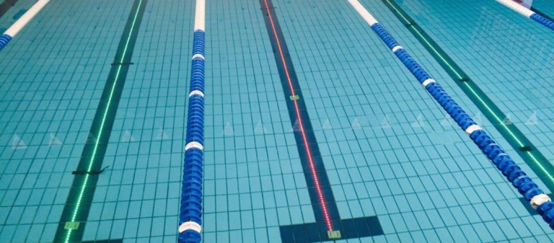 Virtual Swim Trainer in azione