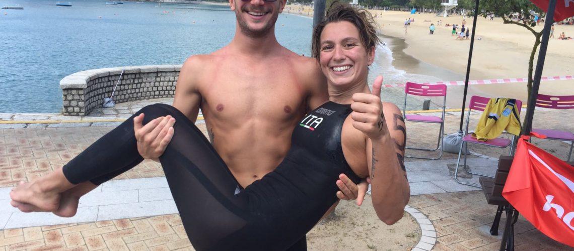 Simone Ruffini e Rachele Bruni trionfano in Coppa del Mondo