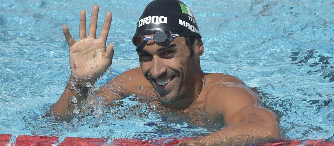 Filippo Magnini, due volte campione mondiale dei 100 stile