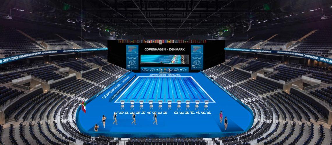 Così apparirà la Royal Arena di Copenaghen in versione