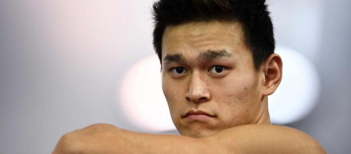 Sun Yang, pluri campione olimpico cinese