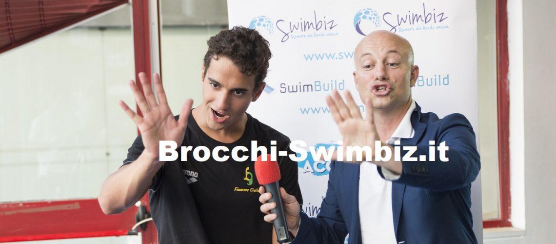 Alessandro Bori al Salotto Acquatico di Swimbiz