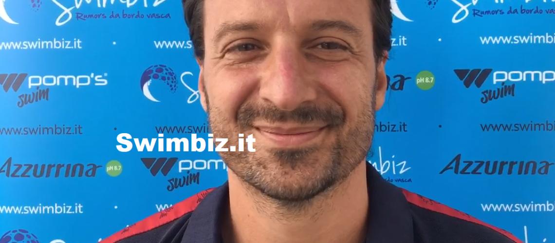 Alessandro Mencarelli a Swimbiz
