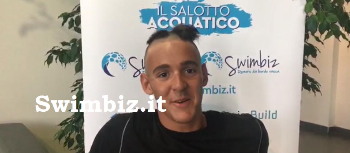 Alessandro Pinzuti al Flash Acquatico di Swimbiz.it