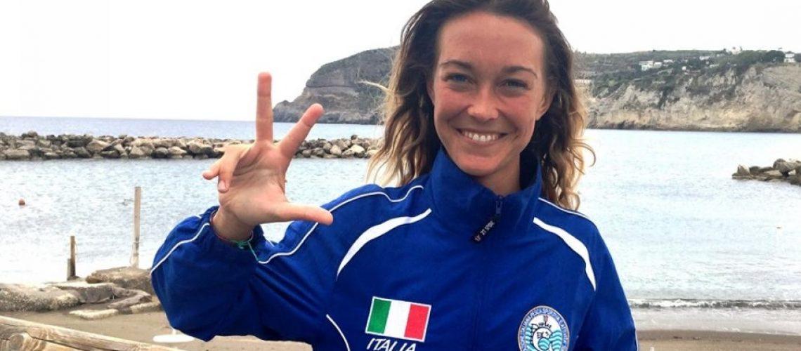 Alessia Zecchini, primatista e campionessa mondiale