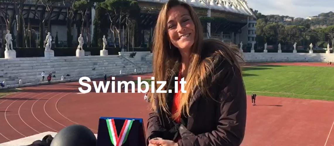 Alessia Zecchini al Flash Acquatico di Swimbiz