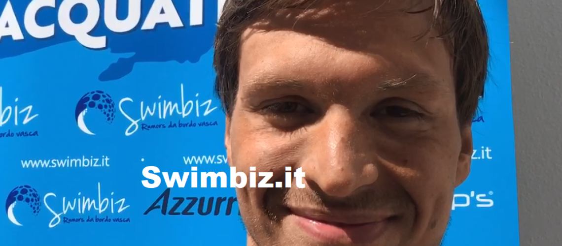 Alessio Occhipinti a Swimbiz